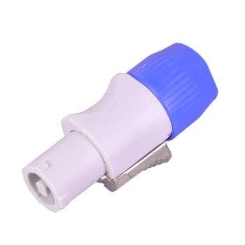 20PCS SpeakON Male Plug PowerCON Type A NAC3FCA+NAC3MPA-1 Chassis Plug Panel adapter 4 Pin Powercon Speaker Connector