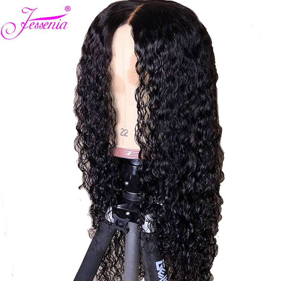 Kinky Curly Lace Front Human Hair Wigs 13x4 Brazilian Human Hair Wig 150% Density for Black Women Pre Plucked Remy