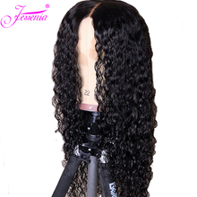 цена на Kinky Curly Lace Front Human Hair Wigs 13x4 Brazilian Human Hair Wig 150% Density for Black Women Pre Plucked Remy