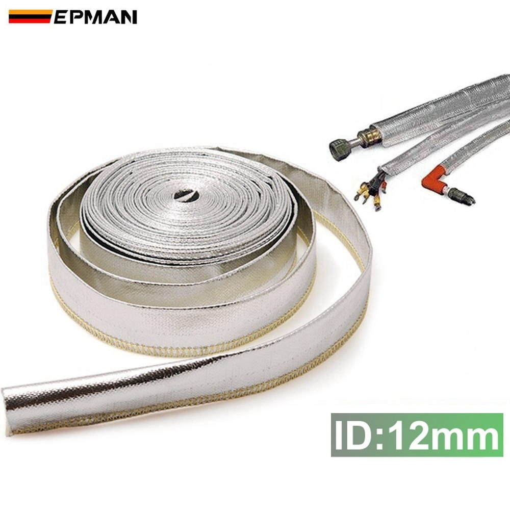 ⊹Heat Shield Sleeve Insulated Wire Hose Cover Wrap Loom Tube 12mm ...