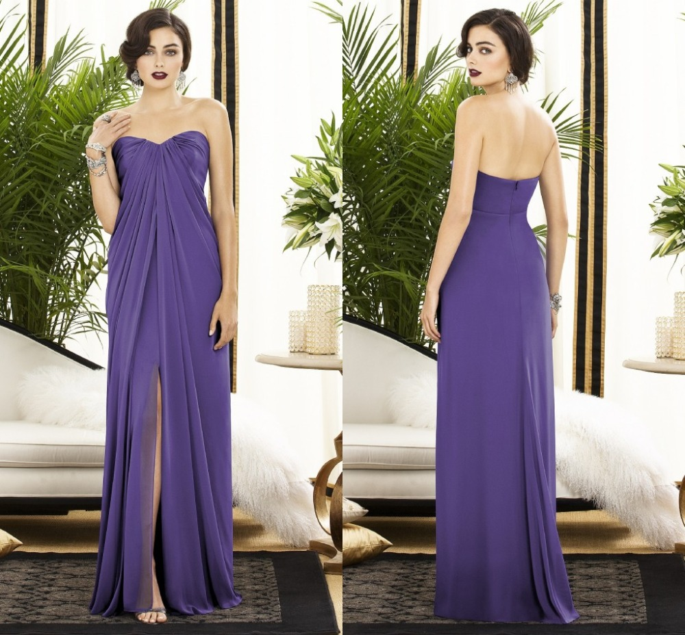 Purple and Gold Wedding Dresses | Dress images