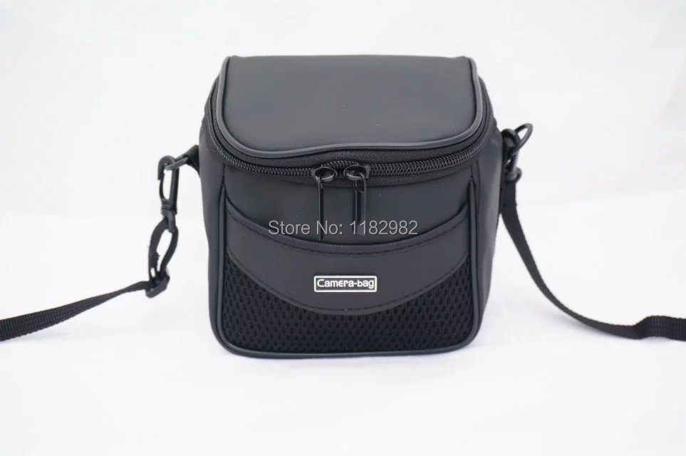 leather Camera Cover Case Bag Shoulder Bags for Nikon P610S P600 P530 P520 P510 P500 L840 L830 L820 L810 L330 L320 With Strap