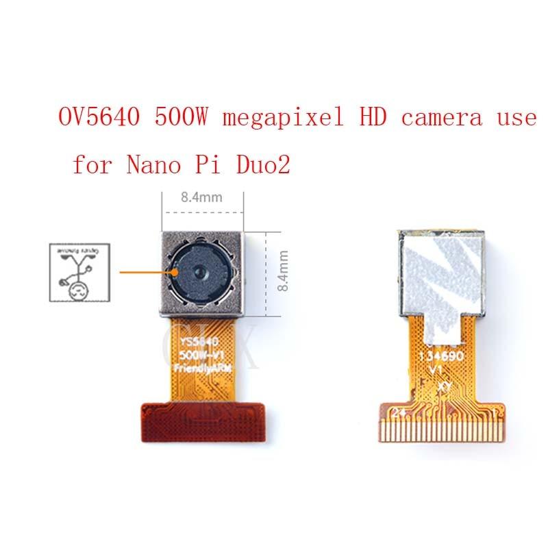 OV5640 500W Megapixel HD Camera, Support Nanopi Duo2
