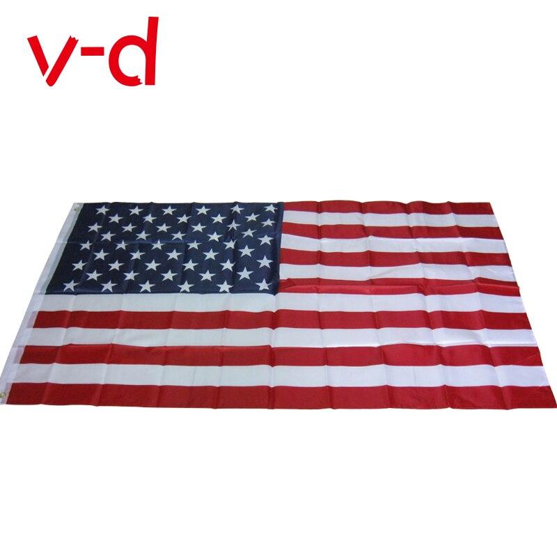 Livraison gratuite xvggdg 90x150cm drapeau américain drapeau usa, drapeau des états-unis les étoiles et les rayures