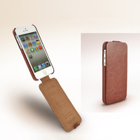 For Apple IPhone 5 5s Fixed Type Luxury Business Cases Horse Leather Pattern Flip Case Protect