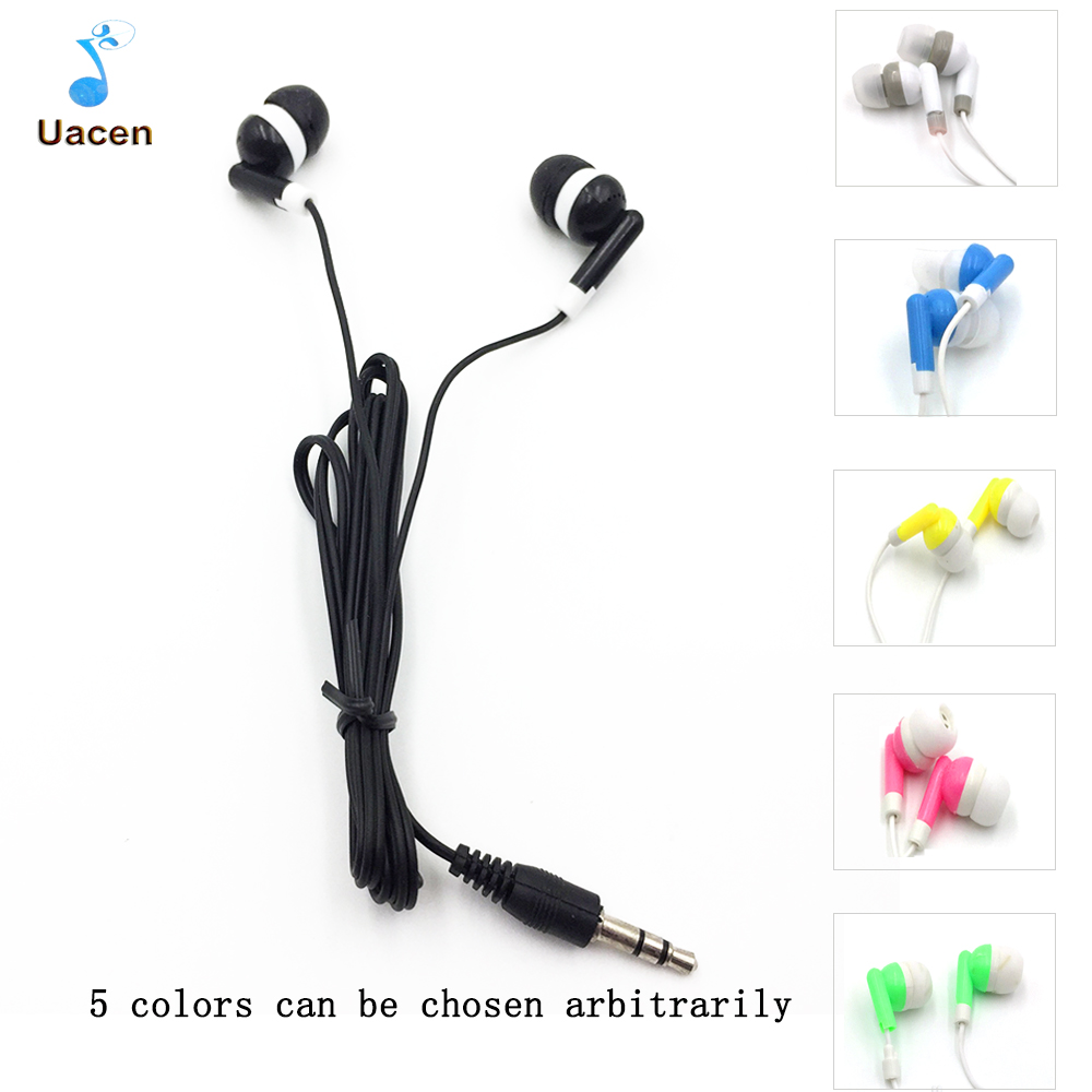 3.5mm In-ear Wired Headset Earphones for Mobile Phone iPhone Samsung S4 S5 Earbuds hot faaeal 3 5mm in ear headphones dj headset alloy tune headset earbuds mobile mp3 wired earphones pk monk plus for cell phone