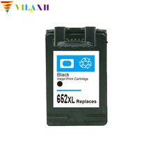 1pcs For HP 652 XL Black Compatible Ink Cartridge DeskJet 3638 1115 2135 3635 2138 3636 1118 Printer