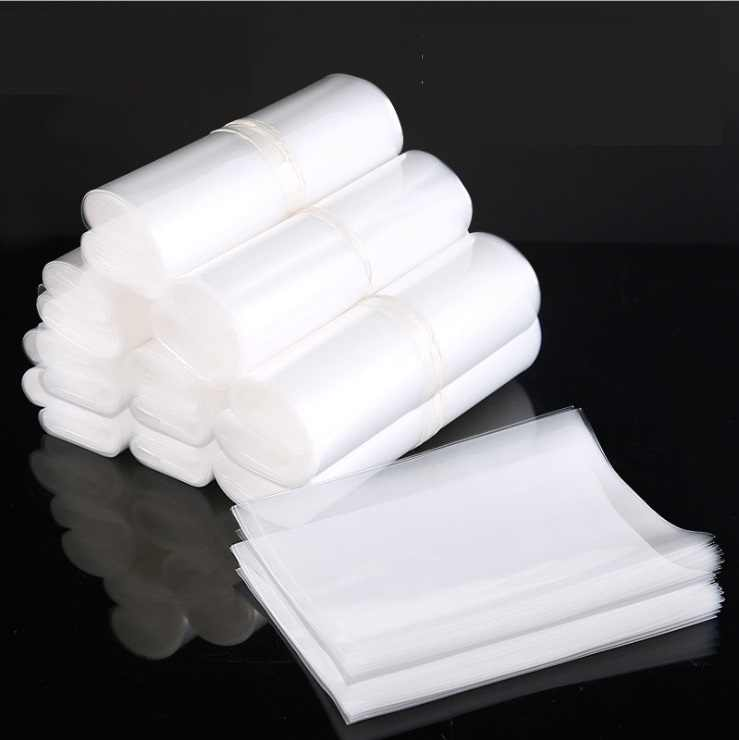Ysmile Kantong Plastik Transparan untuk Serba-serbi Penyimpanan T Kotoran Pack Tanpa Perekat Zip Lock 100 Potongan