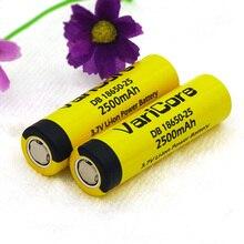Bateria de Alta 10 Pcs Varicore Db18650-25 Original 18650 3.6 V 35a 20a Capacidade DA Bateria 2500 Mah Cigarro Ferramentas de Poder