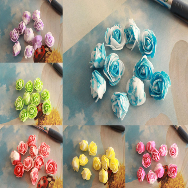 10pcs/lot Creative Bubble Head Rose Wreath Pectoral Flower Bouquet Wedding Dress Decorative Wreaths Materials Color Optional Keep You Fit All The Time Home & Garden Artificial & Dried Flowers