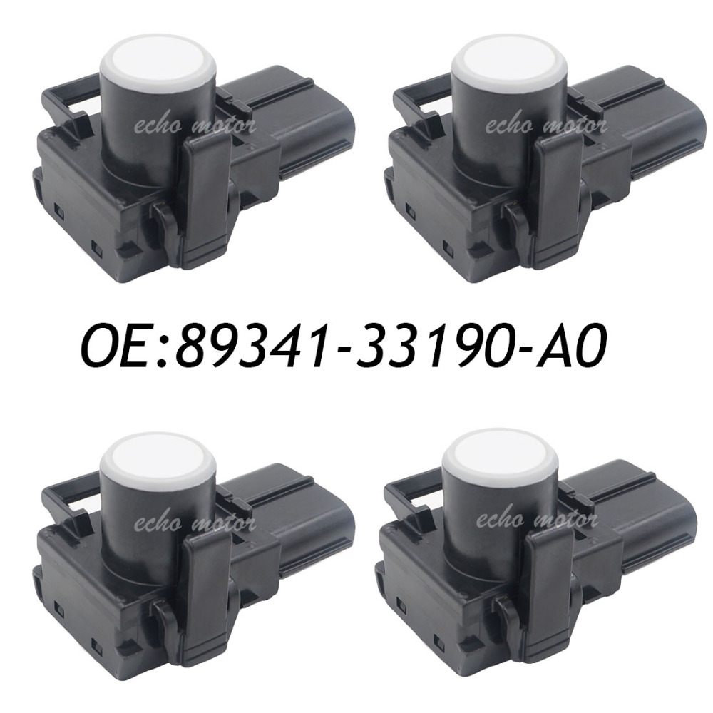 New 4PCS 89341-33190-A0 Parking PDC Sensor For Toyota Wish Camry Reiz Previa Land Cruiser Lexus 89341-33190 188300-3960 4 pcs auto parts new original ultrasonic parking sensor 89341 76010 c0 89341 76010 8934176010 for lexus gs450 hybrid