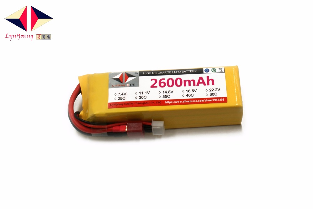 2600mAh 5S 18.5v 40C LYNYOUNG Rechargeable lipo battery for RC Boat UAV Drone Helicopter Airplane AKKU Quadcopter Car Truck Tank