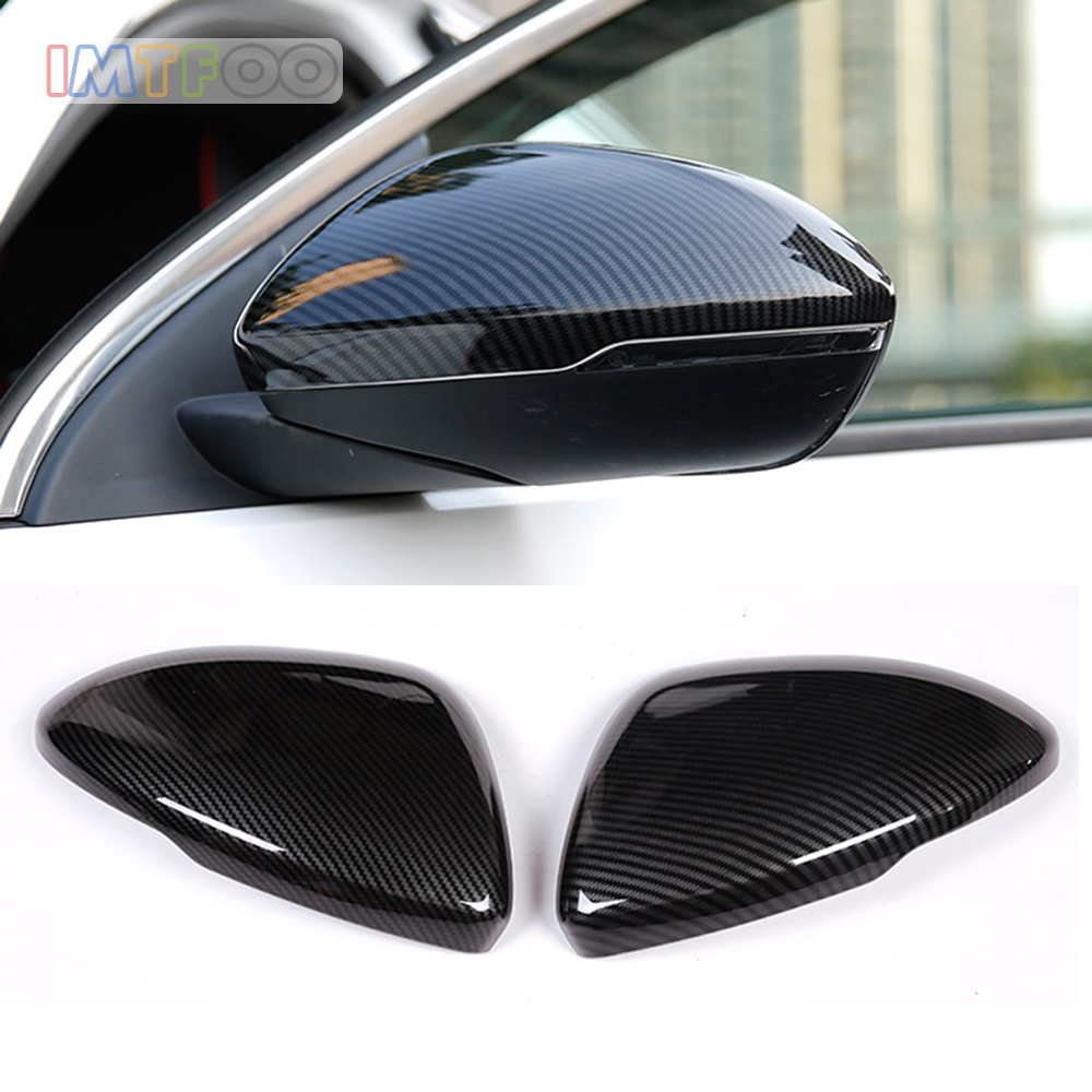 CAR REAR VIEW SIDE WING MIRROR COVER CASES FOR OPEL INSIGNIA BUICK REGAL HOLDEN COMMODORE 2017