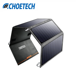24W Solar Charger Dual USB Charger Universal Solar Power Panel Portable Solar Mobile Phone Charger for Samsung S8 for Iphone 7 8