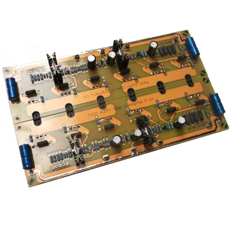 2pcs PASS A5 Single-ended Pure Class A Power Amplifier Board IRFP240 90W*2 Hifi Power Amplifier