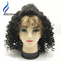 Curly Short Lace Front Wigs Human Hair Glueless Full Lace Wig Alicrown Short Curly Human Hair Lace Front Wigs With Baby Hair