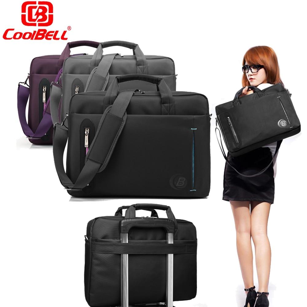 ФОТО Large Capacity Laptop Bag 17.3 15.6 inch Waterproof Computer Sleeve Notebook Shoulder Messenger Bags Women men Handbag Briefcase