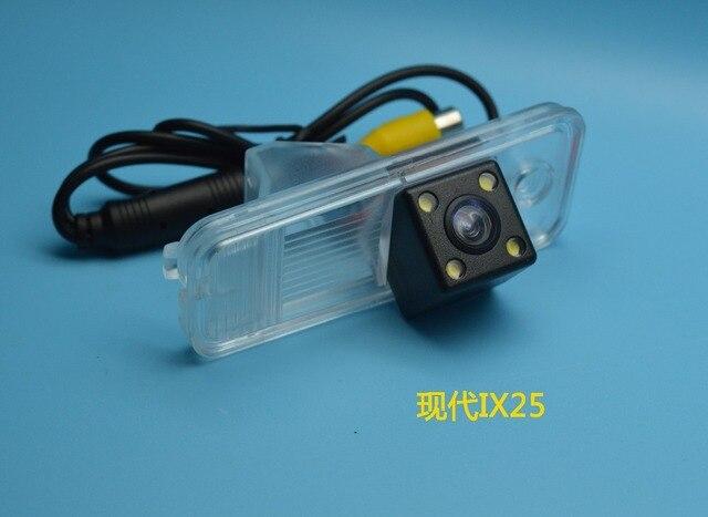 Car Rear View Camera / HD Back Up Reverse Camera / License Plate Lamp Plug & Play For Hyundai ix25 For Hyundai Grandeur