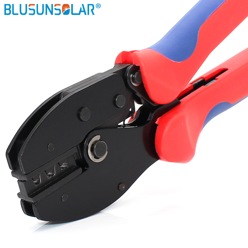 2pcs High Quality Wire Crimping Tool Crimper For Mc4 Connector Solar Cable 2.5/4/6mm2 Xq0104 Promote The Production Of Body Fluid And Saliva Tools Hand Tools