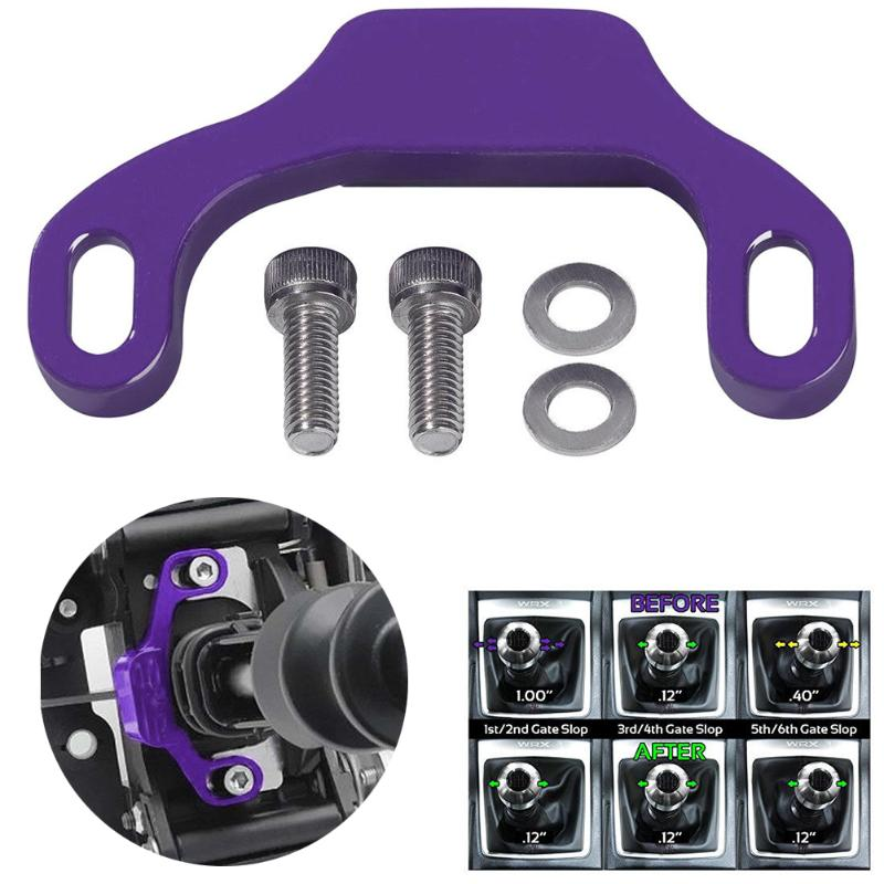 1Pcs Purple Shifter Stop Shift Linkage Bushing Bracket For