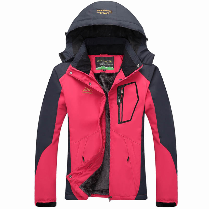 2017 Woman Winter Waterproof Thermal Travel Fur Trekking Outdoor Jackets Sports Camping Hiking Pants Climing Warm Trousers J32