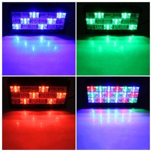 Image 5 - 18 LED Strobe שלב תאורת אפקט RGB קול שלט רחוק עבור דיסקו DJ בר מסיבת חג המולד פלאש קול פעיל אור