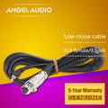 """Free Shipping 11 feet Microphone Cable XLR Female to 1/8"""" 3.5 mm Jack Plug Male Audio Lead 3.5 M Computer Microphone Wire Cord"""