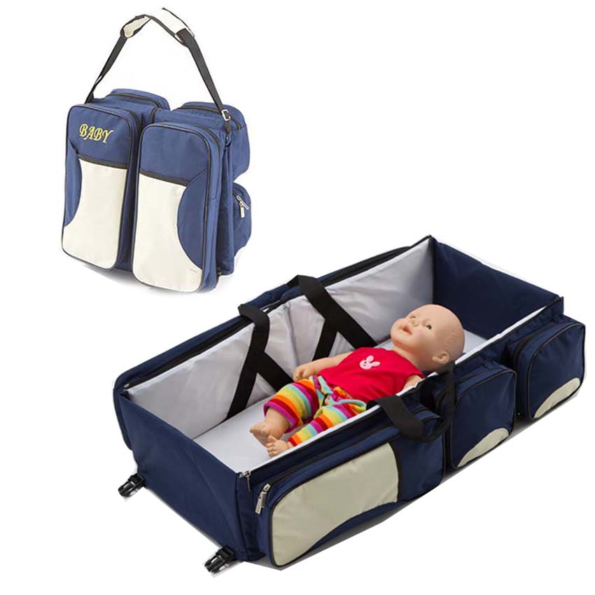 Portable Baby Bed Crib Outdoor Folding Bed Travelling Baby Diaper Bag Infant Safety Bag Cradles Bed Baby Crib Safety Mommy BagPortable Baby Bed Crib Outdoor Folding Bed Travelling Baby Diaper Bag Infant Safety Bag Cradles Bed Baby Crib Safety Mommy Bag
