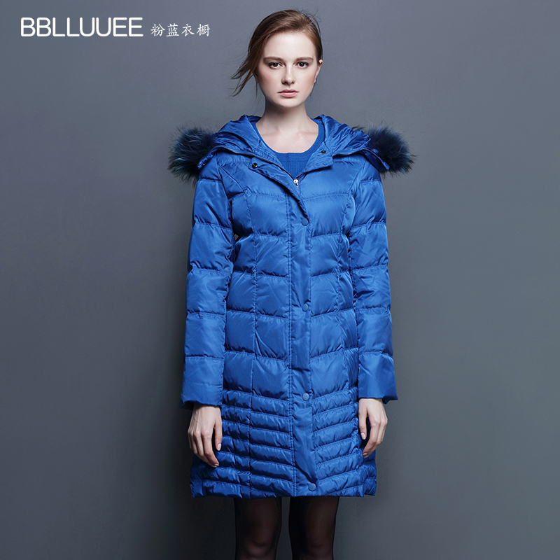 2016 new hot winter Thick Warm woman Down jacket Coat Parkas Outerwear Hooded Raccoon Fur collar long Slim plus size 2XXL Luxury 2016 new european fashion woman winter duck down jacket stand collar warm coat cool color patchwork outerwear streetwear a3424