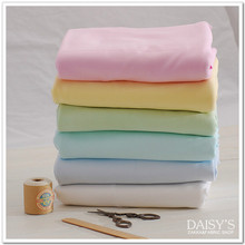 50*170cm Pure color Soft Cotton Knitted Fabric by half meter Stretchy Cotton Baby Knitted Jersey fabric