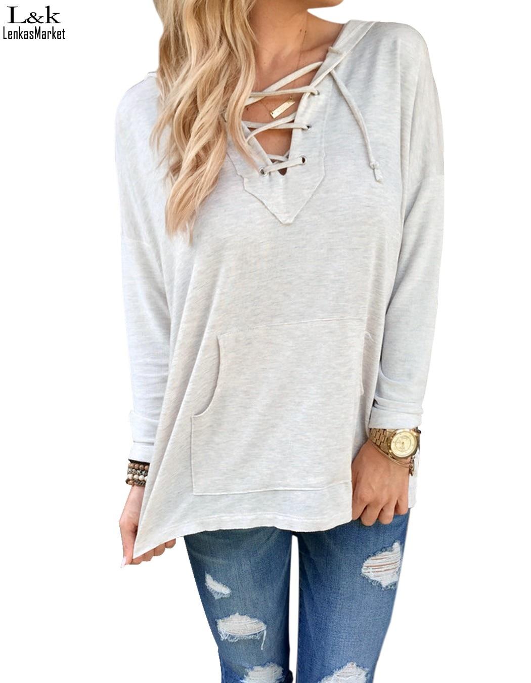 Women'S White Hoodie Sweatshirt - Hardon Clothes