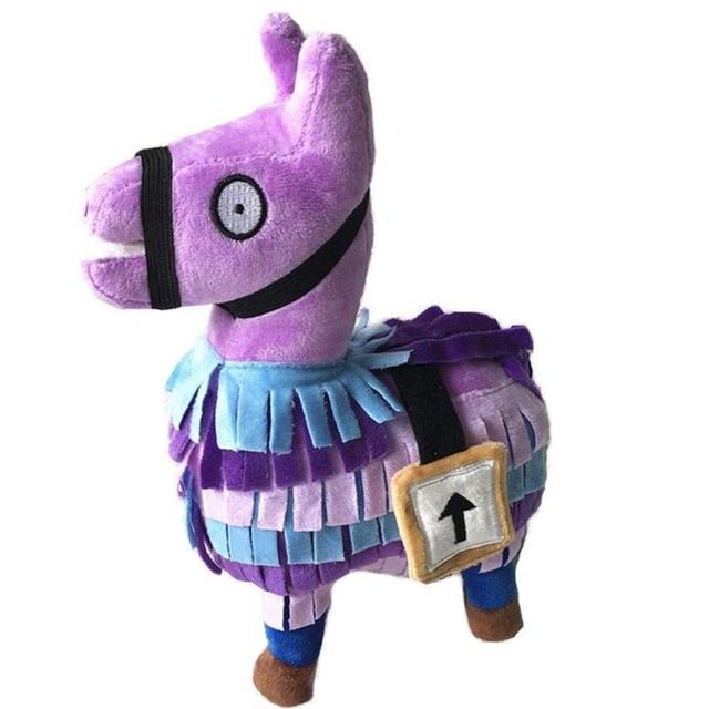3 Size Plush Dolls Alpaca toys For Children Cute Purple Alpaca Doll Soft Plush Pony Puppet Toy for Kid Gifts Home Decor Props