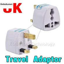 1 pc Adaptador de Viagem Universal NOS AU Plugue de Parede de Viagem DA UE para o REINO UNIDO AC Power Adapter 250 v Tomada 10A conversor de Plug De Energia Elétrica