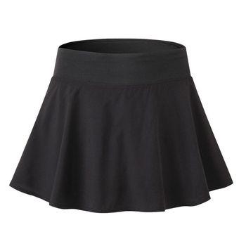 Las mujeres faldas deportivo secado rápido entrenamiento corto activo Shorts faldas
