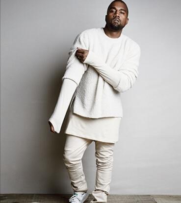 Cool fashion designer men solid hip hop brand sweater Designer clothing for men online sales