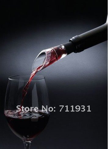 FREE SHIPING 20pcs/lot Brand New RED WINE AERATOR Decanter Pourer IMPROVE FLAVOR For whisky