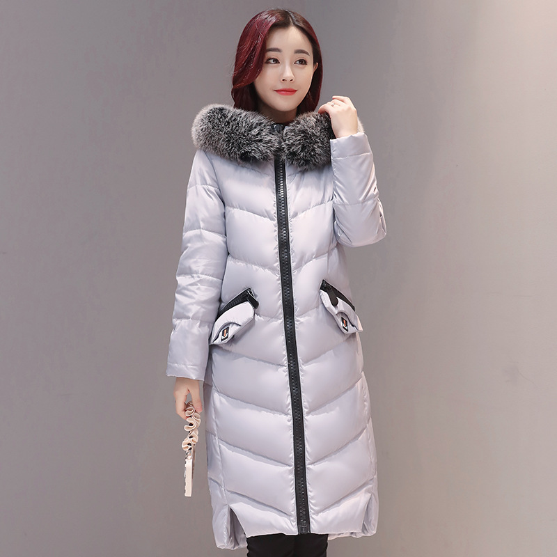 2017 Womens Winter Jackets And Coats Thick Warm Hooded Down Cotton Padded Parkas For Women's Winter Jacket Female Manteau Femme купить