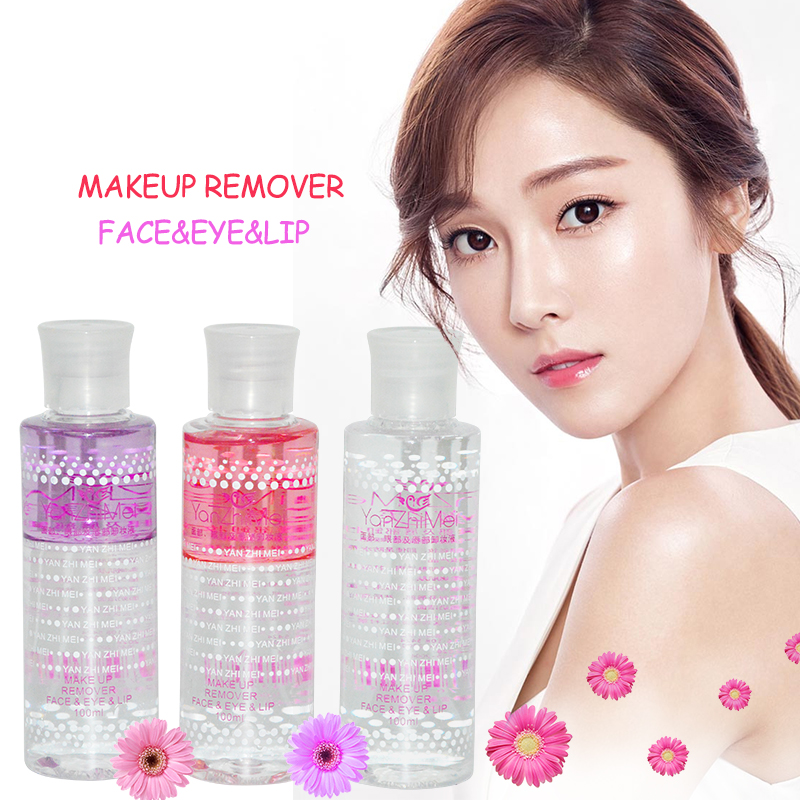 New 100ml Professional Makeup Remover Water Make Up Fixing Spray Face Eye Lips Makeup Cl ...