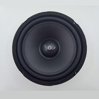 I KEY BUY 8Inch 400W 4Ohm Louder Speaker Front Back Door Car Speakers Home Theater Music Auto Stereo Midrange