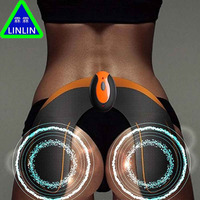 LINLIN electric Wireless remote control intelligent hip gluing apparatus hip buttocks hip screw throwing Massage & Relaxation
