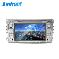 Quad core 2 din 7 inch android 6.0 Universal Car DVD Player for ford/mondeo Audio Radio Stereo GPS Navigatio