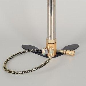 Image 5 - 300bar 30mpa 4500psi 3 שלב יד מופעל PCP משאבת אוויר פיינטבול, מיני גבוהה לחץ מדחס לרכב אופניים ציד
