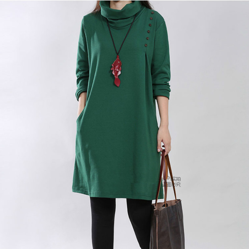 Fashion High Neck Soft Knitted Cotton Maternity Dress 2017 Autumn & Winter Clothes for Pregnant Women Pregnancy Clothing 2017Fashion High Neck Soft Knitted Cotton Maternity Dress 2017 Autumn & Winter Clothes for Pregnant Women Pregnancy Clothing 2017