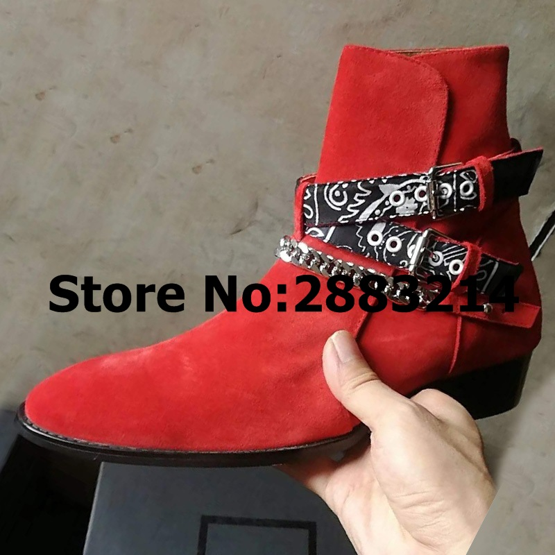 Newest Original Suede Men Ankle Chelsea Boots Round Toe Casual Outdoor Motorcycle Boots Autumn Winter Male Short Ankle Booties mulinsen newest 2017 autumn winter men