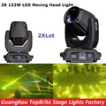 2XLot 2R Beam Moving Head Dj Disco Party Stage Lights High Power 2R 132W Stage Beam Effect Moving Head Light For Free Shipping