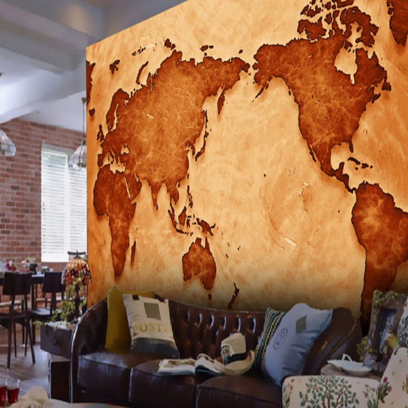 wallpaper 3d Retro nostalgic world map 3d wallpaper Living room Study Hotel background decorative murals 3d stereo window planet earth from outer space background 3d wallpaper murals living room bedroom study paper 3d wallpaper