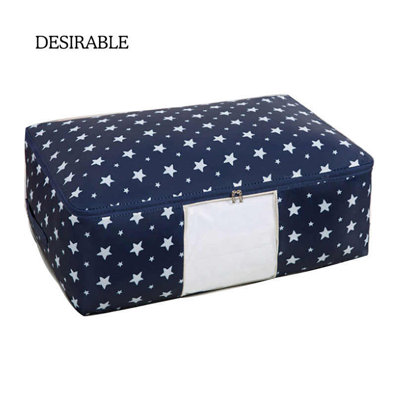 DEAIRABLE Quilt Storage Bags Oxford Storage Bags L XL Home Storage Bags Storage Organizer For D 'Waterproof Cabinet