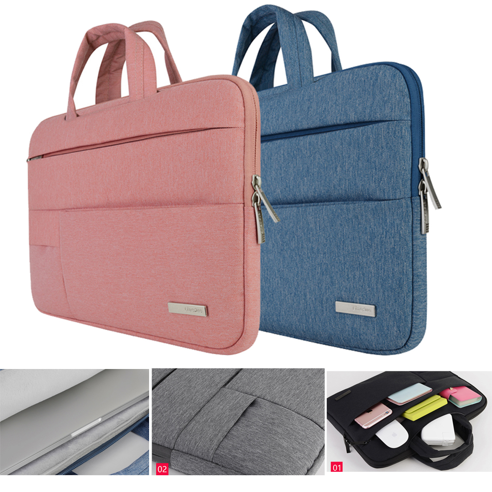 Man Felt Laptop Sleeve Pouch Case For Macbook Pro Air Xiaomi Notebook Bag for Acer Dell HP Asus Lenovo 11 12 13 14 15.6 Inch Price $15.99