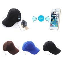 20pcs Wearable Hat Bluetooth Earphones Baseball Cap Bluetooth Music Hat Headset Headphones With Micphone for iphone xiaomi phone