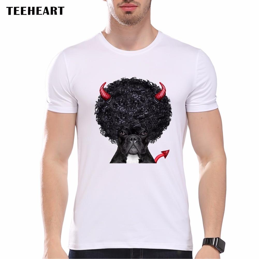 Good quality black t shirt - Summer Naughty Black Dog T Shirt Men Lovely French Bulldog Pug Good Quality Comfortable Brand Pb500